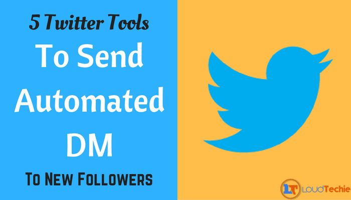 5 Twitter Tools To Send Automated Direct Messages To New Followers Check out this offer for a faxmachine trial account!