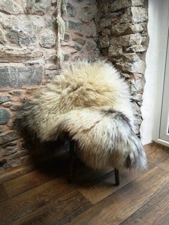 Sheepskin Rug 130 Cm Long Rare Breed