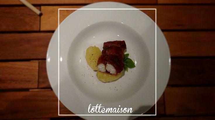 R ti de lotte au jambon de parme recettes cuisiner - Cuisiner le foie de lotte ...