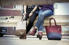 Maggie and Lauren from our Catwalk collection! http://www.cat-bags.com/int/collections/view/4