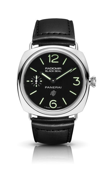 Radiomir Black Seal Logo Acciaio PAM00380 - Kollektion RADIOMIR - Uhren Officine Panerai