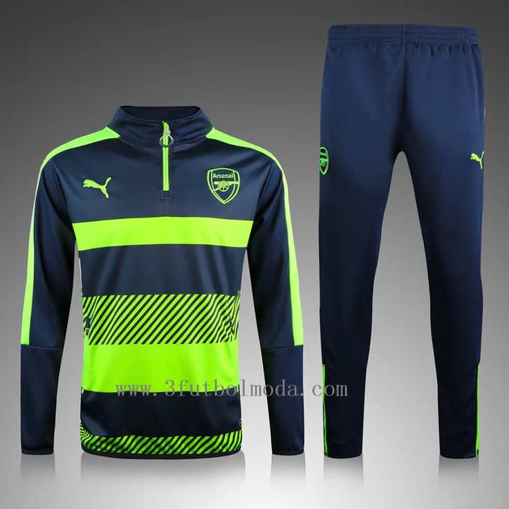 Arsenal away football tracksuits,top quality free shipping,safe payment paypal,credit card esfutbolmoda.com 29-43eur