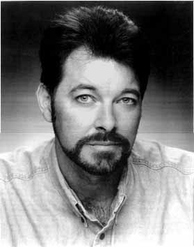 Jonathan Frakes...Com. William Riker...Star Trek: The Next Generation