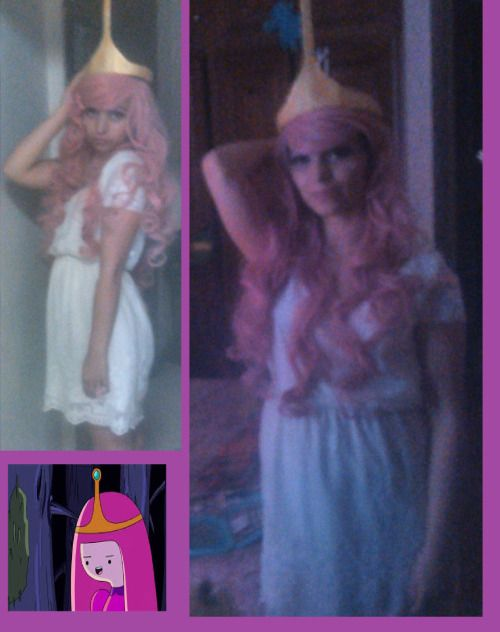 me cosplaying Princess BUBBLEGUM from «Adventure Time »