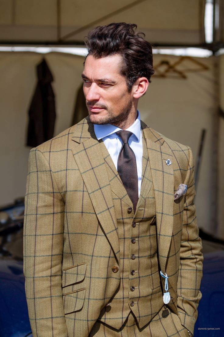 David Gandy & suit | Gentleman Guru - All What Men Need