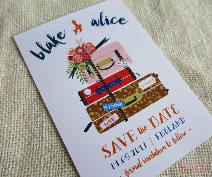 Alice & Blake Save The Date