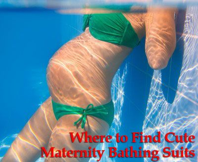 Cute Maternity Bathing Suits - Inexpensive Maternity Clothes