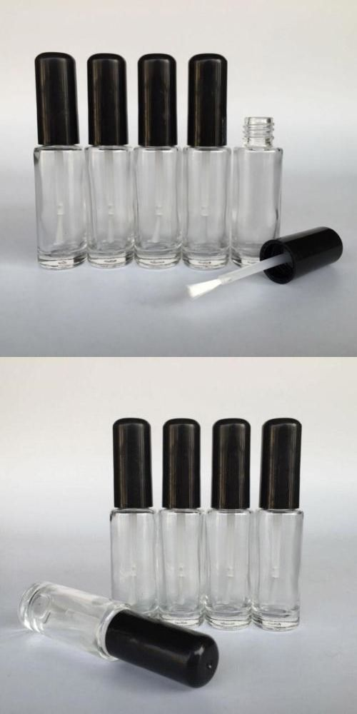 Storage and Empty Containers: Wholesale 8Ml Clear Glass Nail Polish Bottle Container With Agitator Balls Empty -> BUY IT NOW ONLY: $35.98 on eBay!