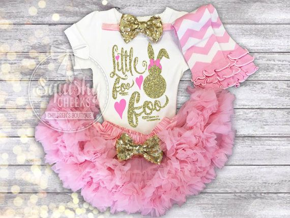 Girl Easter Outfit Easter Dress Easter Shirt by BabySquishyCheeks