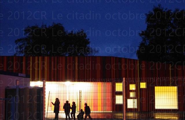 """Première visite de la nouvelle école """"Jean Moulin"""" de Bernay..."""
