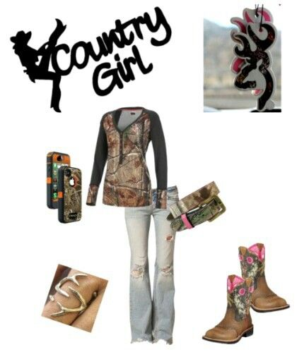 Country Girl Camo Outfit #Countrylife # Camo yep yep.... gonna be a staple this winter Love the ring