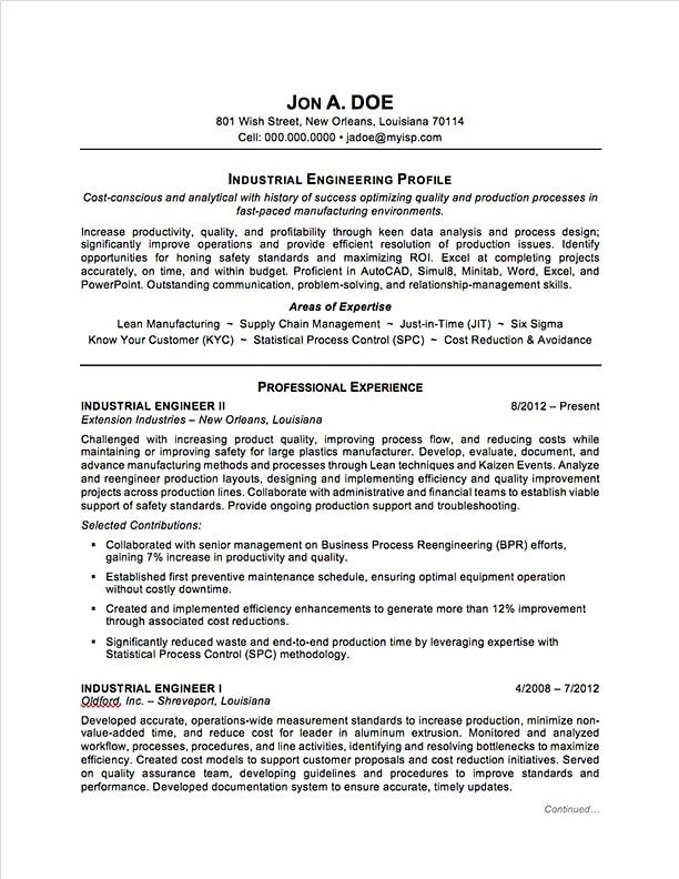 Engineering 4 Resume Examples Sample Resume Resume Engineering