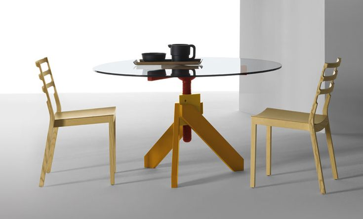 Table Vidun, by Vico Magistretti for De Padova, 1987