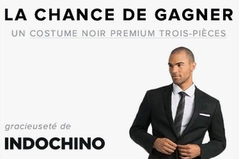 Costume trois-pièces d'homme de 1,000$ - Quebec echantillons gratuits