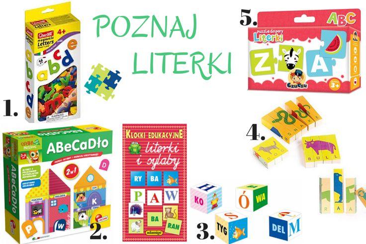Gry edukacyjne - przegląd i inspiracje, nauka czytania dla przedszkolaka, Poznaj literki