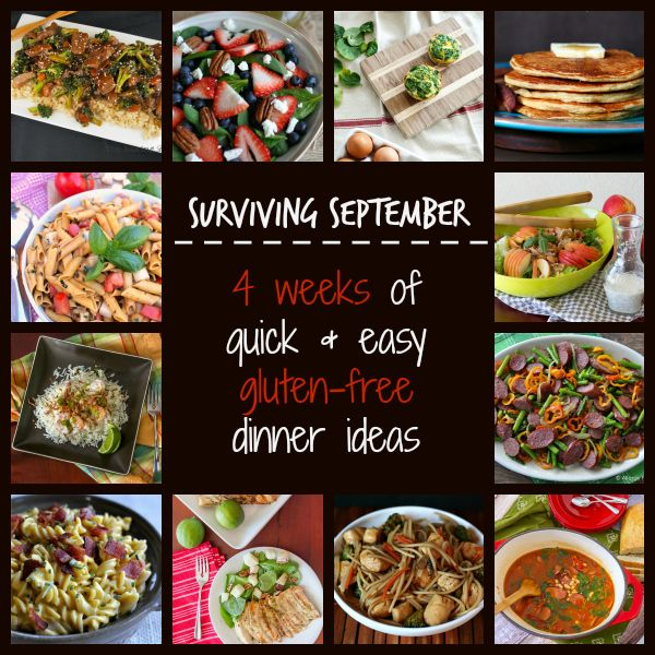 Gluten-Free Dinner Ideas Easy | ... of Quick and Easy Gluten Free Dinner Ideas from My Gluten-Free Kitchen