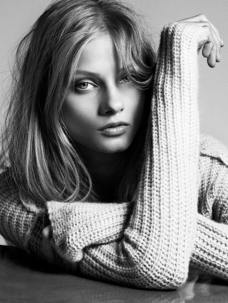 Anna Selezneva by Marcus Ohlsson for Hunkydory Fall 2012 Campaign