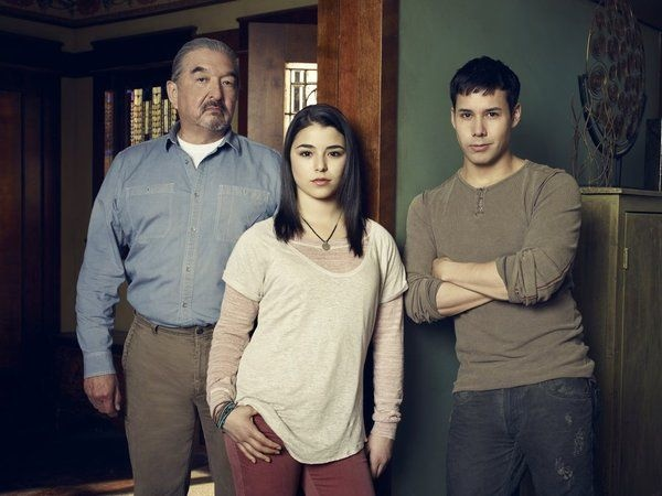 Graham Greene as Rafe McCawley, Nicole Munoz as Christie McCawley, Justin Rain as Quentin McCawley