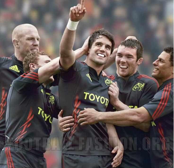 Munster Rugby 2012/13 adidas Alternate Jersey