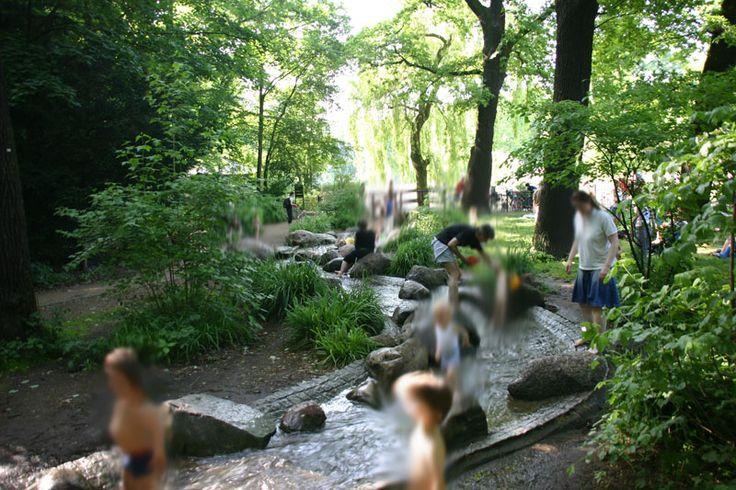Bachlauf Volkspark Friedrichshain