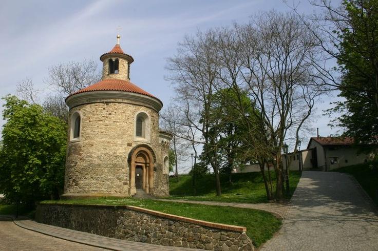 Česko, Praha - Vyšehrad-Rotunda sv.Martina