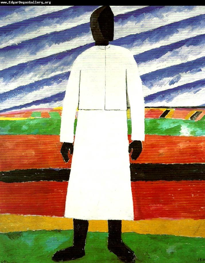 Peasant Woman by Kasimir Malevich 1930