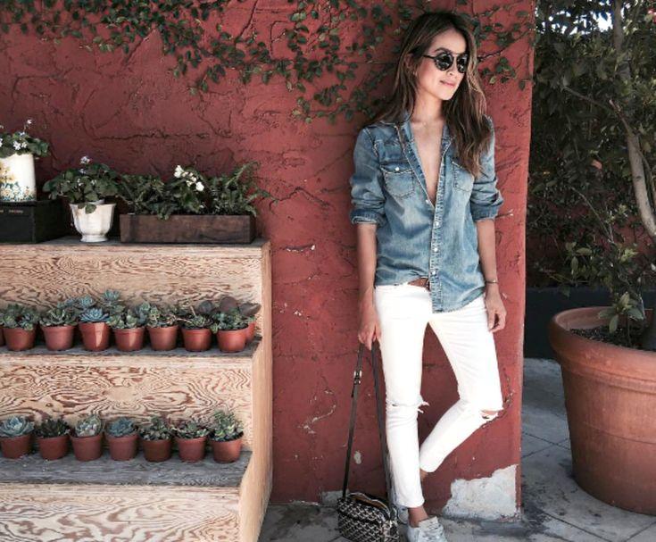 7 λευκά παντελόνια που θα φοράς ξανά και ξανά αυτή την εποχή