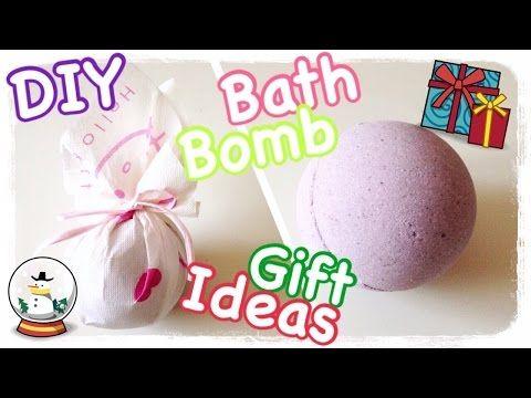 Bombe da bagno fai da te da appendere all'albero di Natale - YouTube