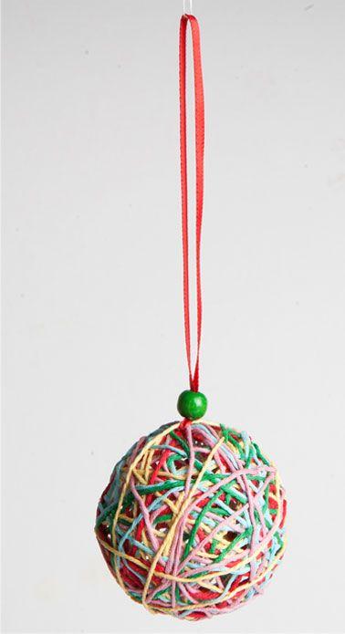 Lav en julekugle med tilbageblik