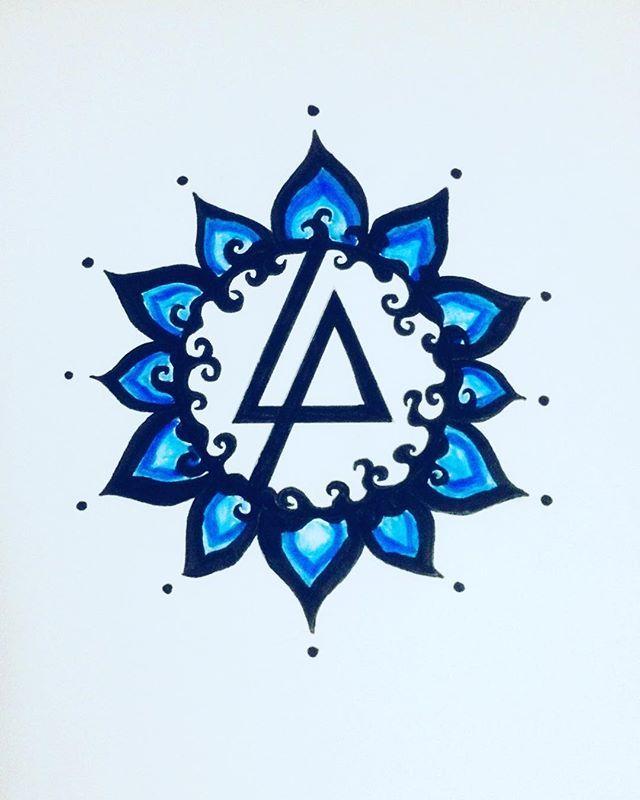 Janine Esp Drew The Linkin Park Symbol Linkinpark