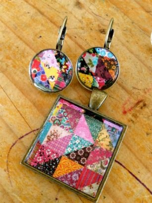 Gabby - Handmade Resin Jewellery