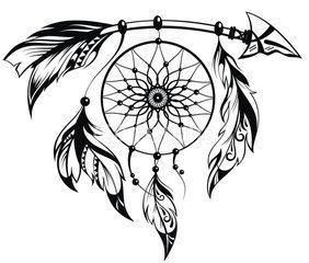 Arrow Dream Catcher SVG by ShelbysSouthernCuts on Etsy