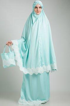 Fatimah Lace Aquamarine