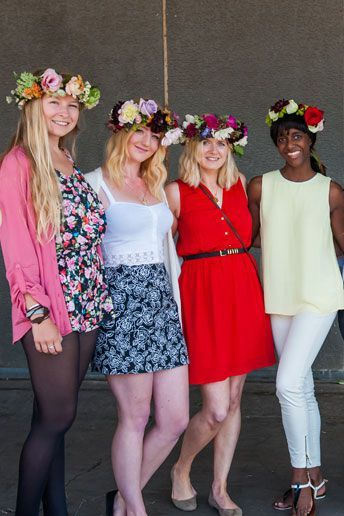 Wedding Magazine - Inside National Flower Crown Day
