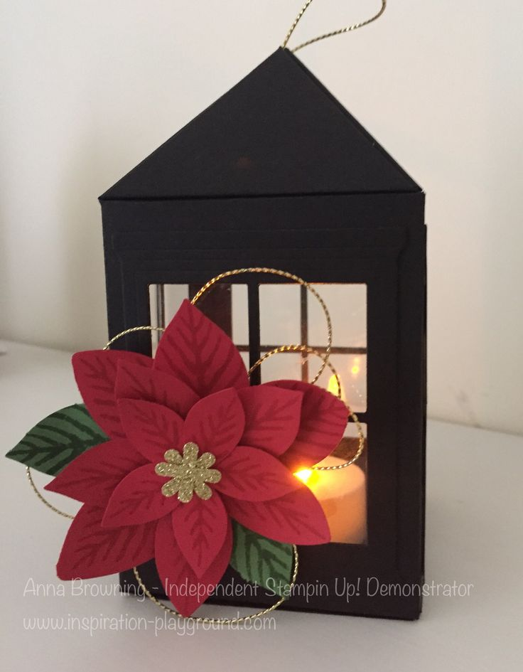 Lantern Tutorial featuring Stampin' Up!'s Heath and Home Thinlits