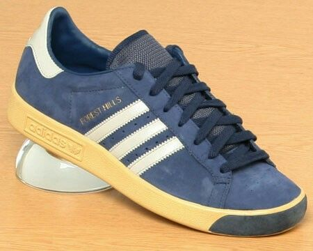 low priced c0ea1 72b0f ... Adidas Originals SUPERSTAR 80 s Flannel Plaid Forest Yellow G95853   179.00 Adidas Forest Hills Vintage - blue grey suede ...