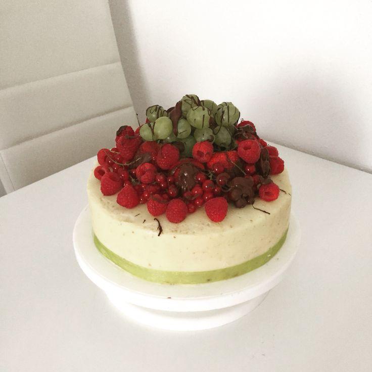 Fruit/buttercream  cake