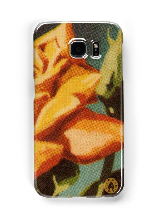 """""""Yellow Rose"""" Samsung Galaxy S6 case by Fluxionist on Redbubble for $28"""
