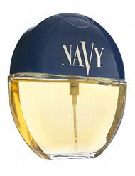 Navy perfume..my first perfume. I thought I was so grown when my mom bought this for me.
