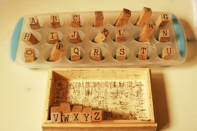 Have you ever needed a way to store your stamps while using them - this makes it so much easier! #rubberstamps #inkandstamps #stamps #woodenstamps #stamps #artsandcrafts #diy #storagesolution #storage