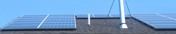 Solar panels on a Great Diamond Model www.brightbuilthome.com