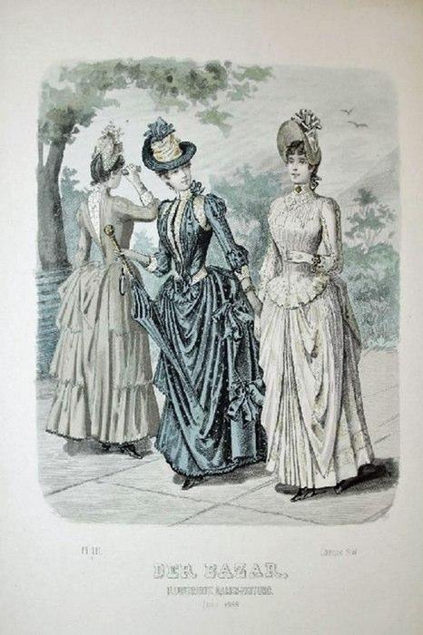 Der Bazar, Illustrirte Damen-Zeitung. Juli 1888. - [Modestich].: Berlin Kein Einband - Antiquariat Tautenhahn