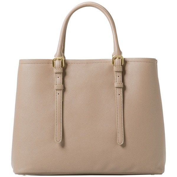 Adjustable Tote Bag featuring polyvore, fashion, bags, handbags, tote bags, mango handbags, mango purse and long purses