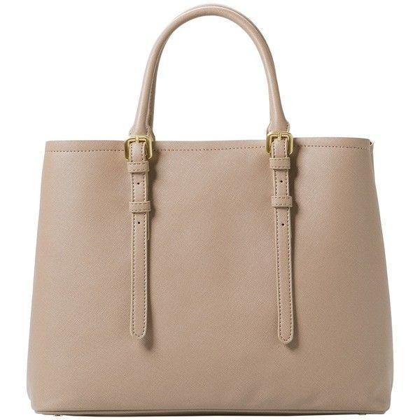 Adjustable Tote Bag ($62) found on Polyvore featuring bags, handbags, tote bags, long purses, mango purse and mango handbags