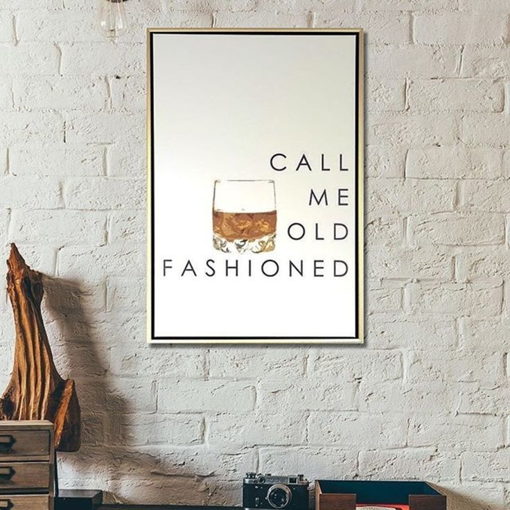 Call Me Old Fashioned 20x30 Canvas