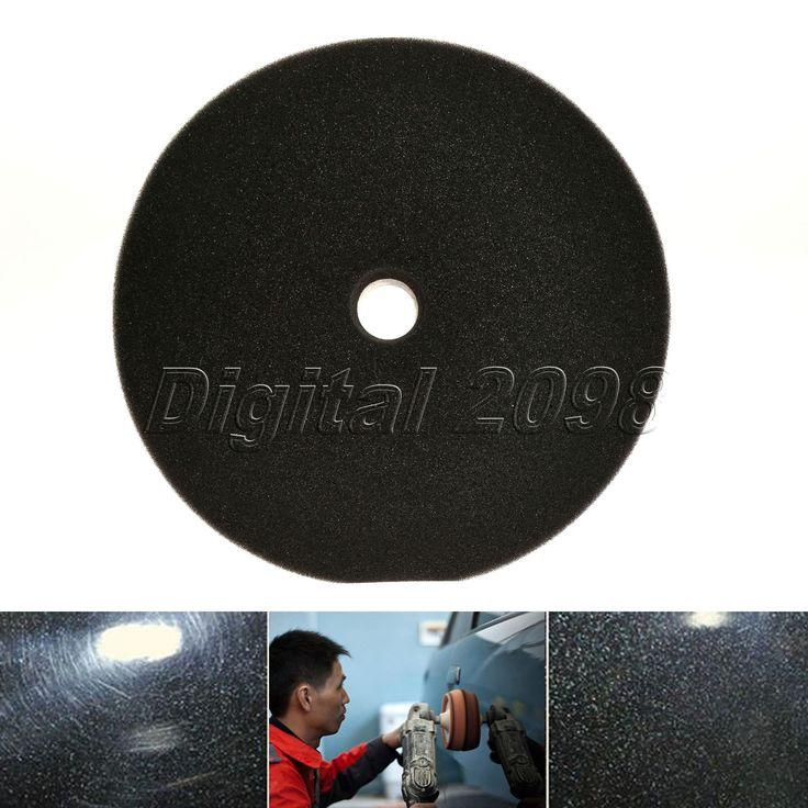 New 6 Inch 200mm Car Polishing Concave Foam Buffing Sponge Pads Kit Car Polisher Pad Polish Car Wash Waxing Cleaning Car-styling