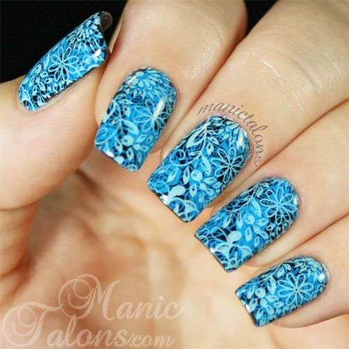 http://www.manictalons.com/2014/08/double-stamping-with-mundo-de-unas-and-pueen-encore.html - Double Stamping with Mundo de Unas and Pueen Encore SE01