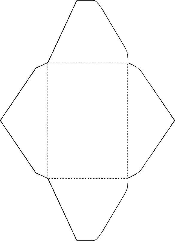 template for making envelopes