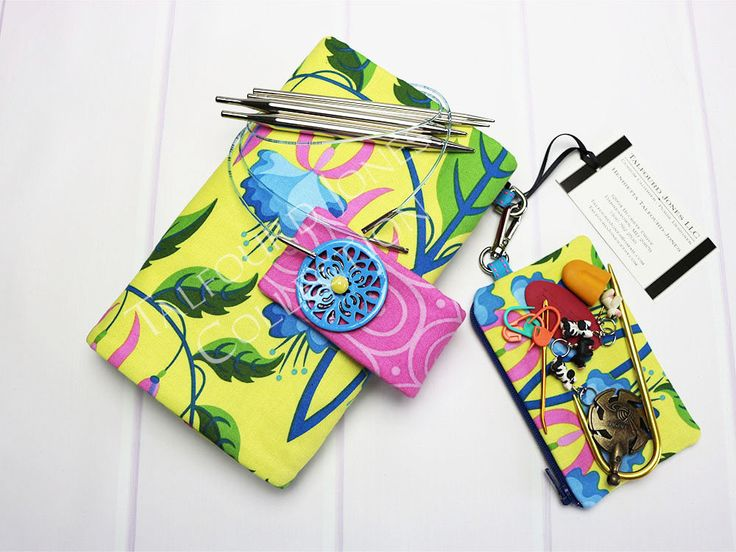 Perfect for interchangeable knitting needle.  Please visit my #etsy shop: Needle Holder - Hiya Hiya Needles - Addi Interchangeable - Janet Sassaman - Gift for Knitter http://etsy.me/2iMoC2H #knittingaccessory #circularknitting  Please share with friends, thanks for looking