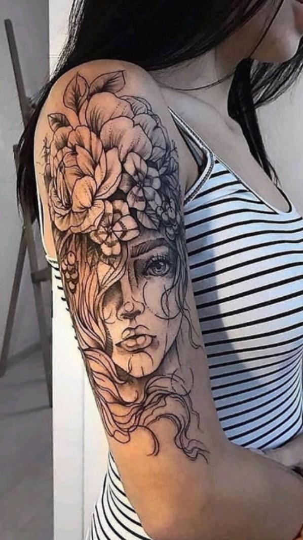 Sexy Tattoos, Body Art Tattoos, Tatoos, Female Tattoos, Tatuajes Tattoos, Unique Tattoos, Flower Tattoo Designs, Flower Tattoos, Tattoo Designs For Women